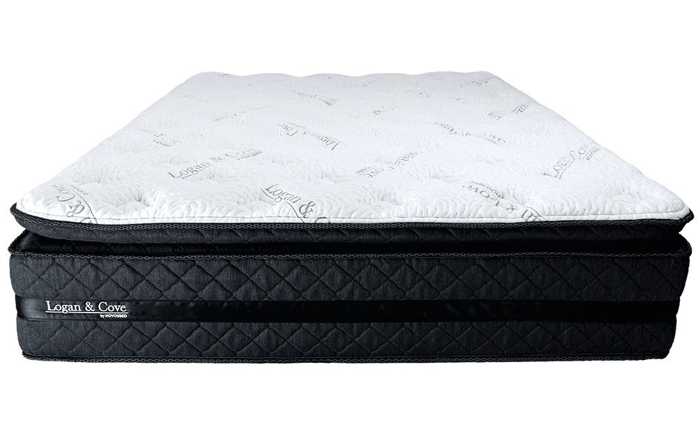 Image of the front of the Logan & Cove mattress.